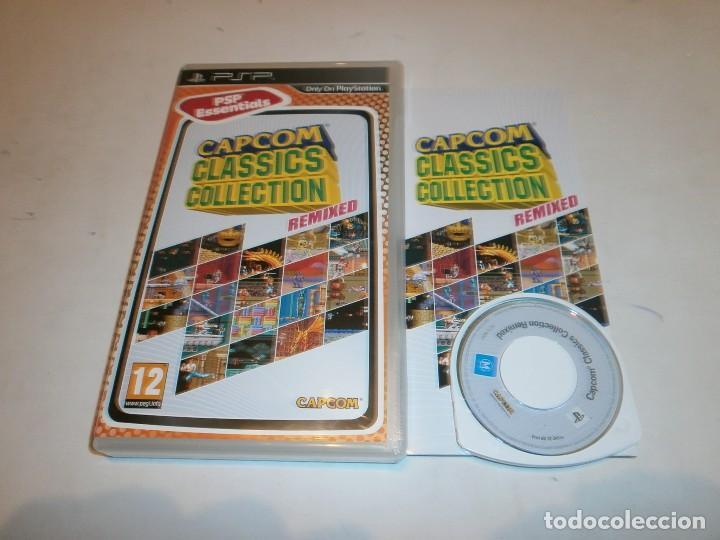 CAPCOM CLASSICS COLLECTION REMIXED PSP PAL ESPAÑA COMPLETO (Juguetes - Videojuegos y Consolas - Sony - Psp)