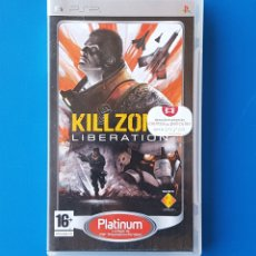 Videojuegos y Consolas: KILLZONE LIBERATION (JUEGO SONY PLAYSTATION PORTABLE PSP) / COMPLETO: CAJA, MANUAL Y DISCO UMD. Lote 105634222
