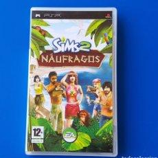 Videojuegos y Consolas: LOS SIMS 2 NÁUFRAGOS (JUEGO SONY PLAYSTATION PORTABLE PSP) /COMPLETO: CAJA, MANUAL Y DISCO UMD. Lote 106733991