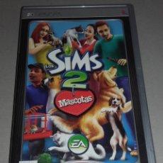 Videojuegos y Consolas: JUEGO LOS SIMS 2 MASCOTAS PSP. Lote 106556179