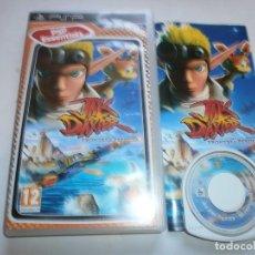 Videojuegos y Consolas: JAK AND DAXTER LA FRONTERA PERDIDA PSP PAL COMPLETO. Lote 107635171