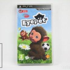 Videojuegos y Consolas: VIDEOJUEGO EYEPET - CONSOLA SONY PSP - COMPLETO. Lote 108071646