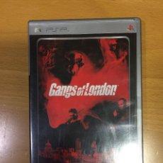 Videojuegos y Consolas: GANGS OF LONDON PLATINUM-PARA PSP- JUEGO. Lote 108739563