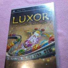 Videojuegos y Consolas: LUXOR PSP PAL COMPLETO . Lote 108798479