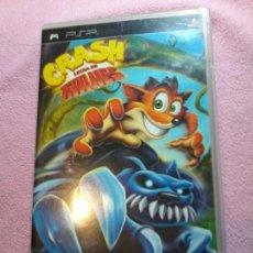 Videojuegos y Consolas: JUEGO PSP CRASH LUCHA DE TITANES ESP COMPLETO . Lote 108799875