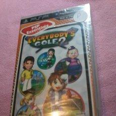 Videojuegos y Consolas: PSP EVERYBODYS GOLF, 2 PRECINTADO PAL ESP -PSP-. Lote 108813299