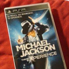 Videojuegos y Consolas: JUEGO PSP MICHAEL JACKSON. Lote 109348215