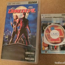 Videojuegos y Consolas: UMD VIDEO PELICULA PSP SONY DAREDEVIL DARE DEVIL KREATEN. Lote 109404803