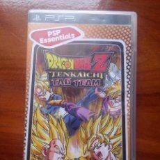 Videojuegos y Consolas: JUEGO PSP DRAGONBALL Z TENKAICHI TAG TEAM. Lote 109729395