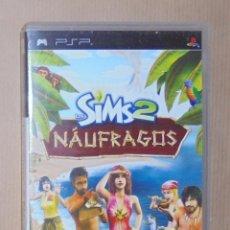 Videojuegos y Consolas: LOS SIMS 2 NAUFRAGOS- JUEGO - PSP. Lote 111734151