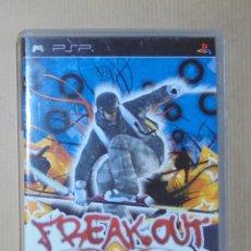 Videojuegos y Consolas: FREAK OUT - EXTREME FREERIDE - JUEGO - PSP. Lote 111734327