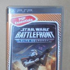 Videojuegos y Consolas: STAR WARS BATTLEFRONT; ELITE SQUADRON - JUEGO - PSP ESSENTIALS. Lote 111736007