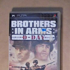 Videojuegos y Consolas: BROTHERS IN ARMS: D-DAY - JUEGO - PSP. Lote 111738803