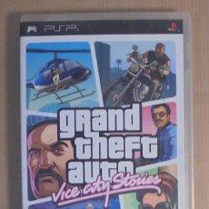 Videojuegos y Consolas: GRAND THEFT AUTO: VICE CITY STORIES - JUEGO - PSP. Lote 111739147