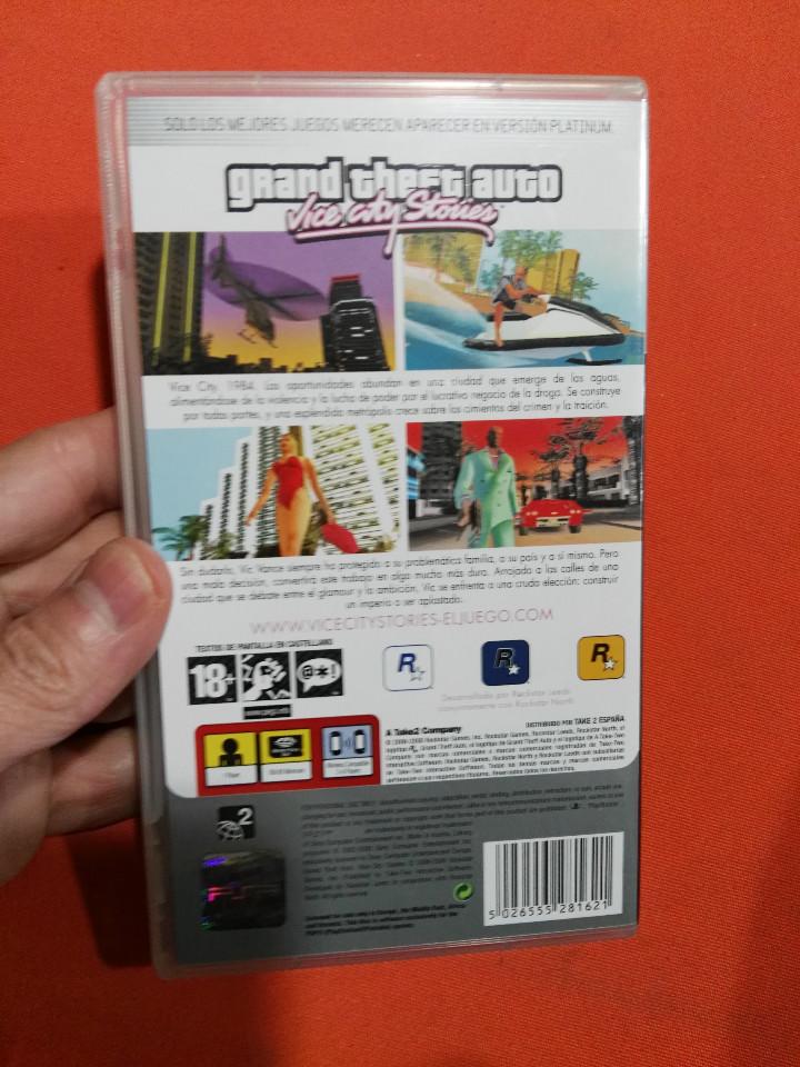 Videojuegos y Consolas: psp grand cheft auto - Foto 2 - 112118935