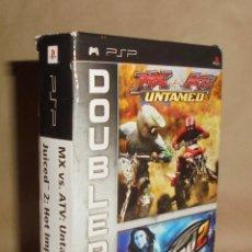 Videojuegos y Consolas: MX VS. ATV: UNTAMED / JUICED 2: HOT IMPORT NIGHTS - JUEGO - PSP. Lote 111739555