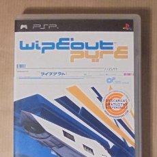 Videojuegos y Consolas: WIPEOUT PURE - JUEGO - PSP. Lote 112272015