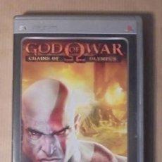 Videojuegos y Consolas: GOD OF WAR: CHAINS OF OLYMPUS - JUEGO - PSP - PLATINUM. Lote 112272663