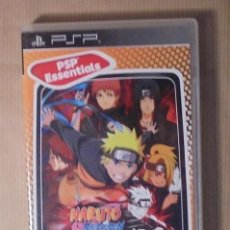 Videojuegos y Consolas: NARUTO SHIPUDEN LEGENDS:AKATSUKI RISING - JUEGO - PSP ESSENTIALS. Lote 112276087