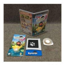 Videojuegos y Consolas: EYEPET EXPLORADORES SONY PSP. Lote 112863527