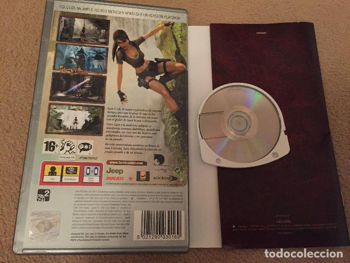 Lara Croft Tomb Raider Legend Psp Playstation P Buy Video Games And Consoles Psp At Todocoleccion 114070907