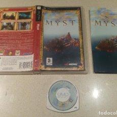 Videojuegos y Consolas: MYST PSP SONY PAL-ESPAÑA . Lote 114109095