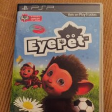 Videojuegos y Consolas: EYEPET PSP. Lote 114429739