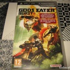 Videojuegos y Consolas: GODS EATER BURST PSP PAL ESPAÑA COMPLETO NAMCO. Lote 114677783
