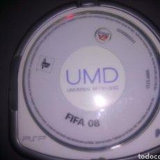 Videojuegos y Consolas: JUEGO DE PAPEL, FIFA 08, LO QUE SALE EN LAS FOTOS. Lote 114968698