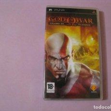 Videojuegos y Consolas: JUEGO DE PSP. GOD OF WAR: CHAINS OF OLYMPUS. Lote 115131147