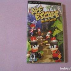 Videojuegos y Consolas: JUEGO DE PSP. APE ESCAPE, ON THE LOOSE. EN INGLES.. Lote 115131503