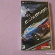Videojuegos y Consolas: JUEGO DE PSP. RIDGE RACERS. VERSIÓN EN JAPONES.. Lote 115131703