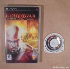Videojuegos y Consolas: GOD OF WAR: CHAINS OF OLYMPUS - JUEGO - PSP. Lote 115341059