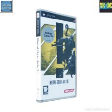 Videojuegos y Consolas: METAL GEAR ACID 2 / PLAYSTATION PORTABLE PLAY STATION PSP / PAL / KONAMI 2006 HIDEO KOJIMA. Lote 115676427