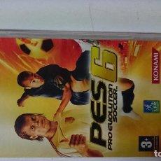 Videojuegos y Consolas: PES 6 PARA PSP, EXCELENTES CONDICIONES.. Lote 116161263