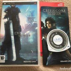 Videojuegos y Consolas: CRISIS CORE FINAL FANTASY VII FF 7 PSP PLAY STATION PORTABLE PLAYSTATION KREATEN. Lote 117478403