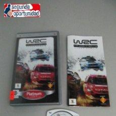 Videojuegos y Consolas: WRC - FIA WORLD RALLY - CHAMPIONSHIP - PSP. Lote 117780903