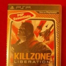 Videojuegos y Consolas: JUEGO KILLZONE LIBERATION - PSP - MUY BUEN ESTADO Y CON INSTRUCCIONES-COMPLETO.. Lote 121564571