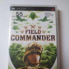 Videojuegos y Consolas: FIELD COMMANDER (PSP) (SONY PLAYSTATION PORTABLE). Lote 121605899