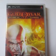 Videojuegos y Consolas: GOD OF WAR CHAINS OF OLYMPUS (PSP) (SONY PLAYSTATION PORTABLE). Lote 121606419