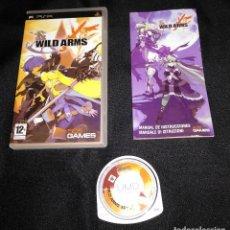 Videojuegos y Consolas: JUEGO PSP - WILD ARMS XF - COMPLETO - PAL ESPAÑA. Lote 121920479