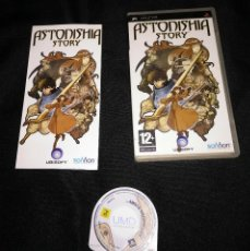 Videojuegos y Consolas: JUEGO PSP - ASTONISHIA STORY - COMPLETO - PAL ESPAÑA. Lote 136401946