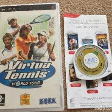 Videojuegos y Consolas: VIRTUA TENNIS WORLD TOUR TENIS PSP PLAYSTATION PORTABLE SONY KREATEN. Lote 121929107