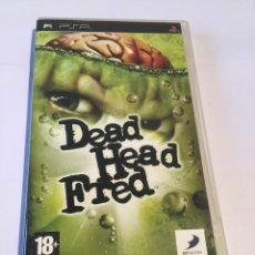 Videojuegos y Consolas: SONY PLAYSTATION PSP DEAD HEAD FRED, MOTOGP & ERAGON PAL ESPAÑA,. Lote 121978875