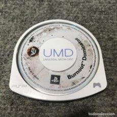 Videojuegos y Consolas: BURNOUT DOMINATOR UMD SONY PSP. Lote 121989643
