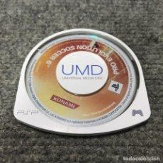 Videojuegos y Consolas: PRO EVOLUTION SOCCER 6 UMD SONY PSP. Lote 121989651