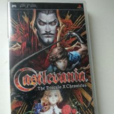 Videojuegos y Consolas: CASTLEVANIA THE DRACULA X CHRONICLES COMPLETO. EN . PLAYSTATION PORTABLE PSP. Lote 122269427