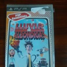 Videojuegos y Consolas: LLUVIA DE ALBONDIGAS - SONY PSP - UMD - UBI SOFT - NUEVO Y PRECINTADO. Lote 102765703