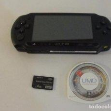Videojuegos y Consolas: LOTE CONSOLA PSP MAS JUEGO GOD OF WAR GHOST OF SPARTA SONY FUNCIONANDO..SALIDA 1 EURO. Lote 124756455