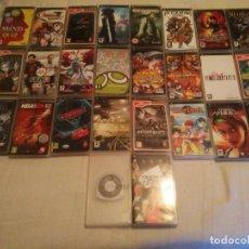 Videojuegos y Consolas: INCREIBLE LOTE DE 26 JUEGOS DE LA CONSOLA SONY PSP JUEGAZOS MUCHOS RPG BUENOS LEER BIEN. Lote 125054383